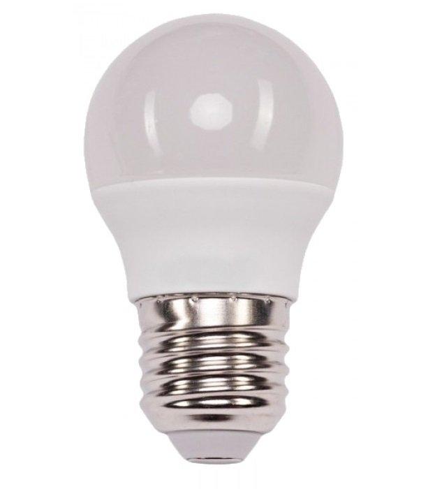 Светодиодная лампа V-TAC 7W-60W SAMSUNG CHIP E27 G45 Plastic 4000K (3800157640121) фото 1