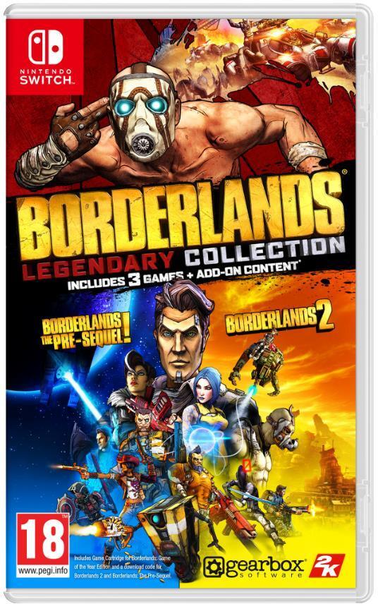 Игра Borderlands Legendary Collection (Nintendo Switch, Русский язык) фото 1