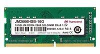 Пам'ять для ноутбука Transcend DDR4 2666 16GB SO-DIMM (JM2666HSE-16G)