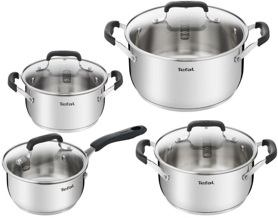 Набор посуды Tefal Cook & Cool 8 предметов (E493S874) фото