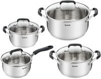 Набір посуду Tefal Cook & Cool 8 предметів (E493S874)
