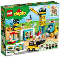 Конструктор LEGO DUPLO Башенный кран и строительство (10933)