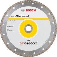 Алмазный отрезной диск Bosch ECO универсальный Turbo 230-22.23