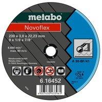 Круг відрізний Metabo Novoflex 230x3,0x22,23 сталь, TF 41