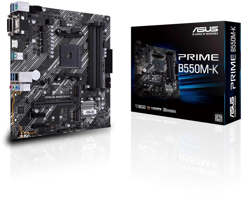 Материнська плата ASUS PRIME B550M-K (PRIME_B550M-K)фото