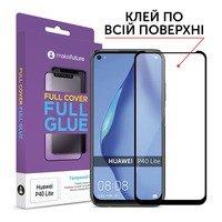 Защитное стекло MakeFuture для Huawei P40 Lite Full Cover Full Glue