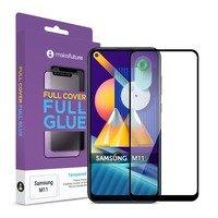 Защитное стекло MakeFuture для Galaxy M11 Full Cover Full Glue