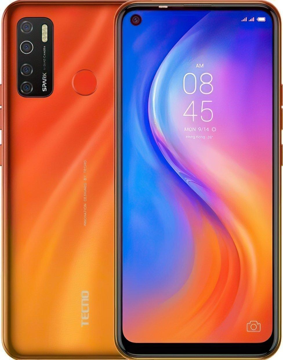 Смартфон TECNO Spark 5 Pro (KD7) 4/64Gb DS Spark Orangeфото