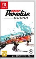Игра Burnout Paradise Remastered (Nintendo Switch, Английский язык)