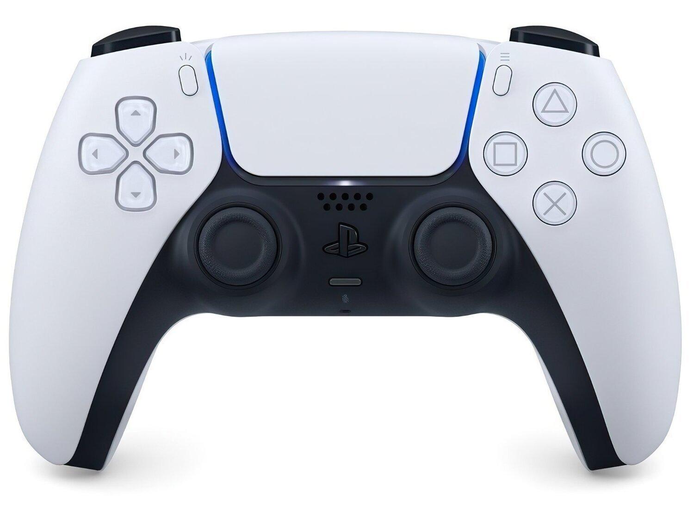 Беспроводной геймпад DualSense для PS5 White (9399902) фото