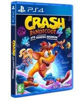 Игра Crash Bandicoot 4: It's About Time (PS4, Русские субтитры)