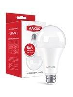 Светодиодная лампа MAXUS A80 18W 4100K 220V E27 (1-LED-784)