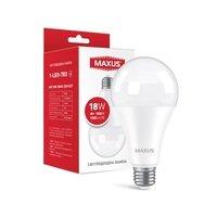 Светодиодная лампа MAXUS A80 18W 3000K 220V E27 (1-LED-783)