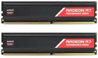 Память для ПК AMD DDR4 2666 16GB KIT (8GBx2) Heat Shield (R7S416G2606U2K)