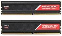 Пам'ять для ПК AMD DDR4 2400 8GB KIT (4GBx2) Heat Shield (R7S48G2400U1K)