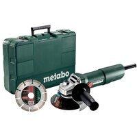 Угловая шлифмашина Metabo W 750-125 Set (603605690)