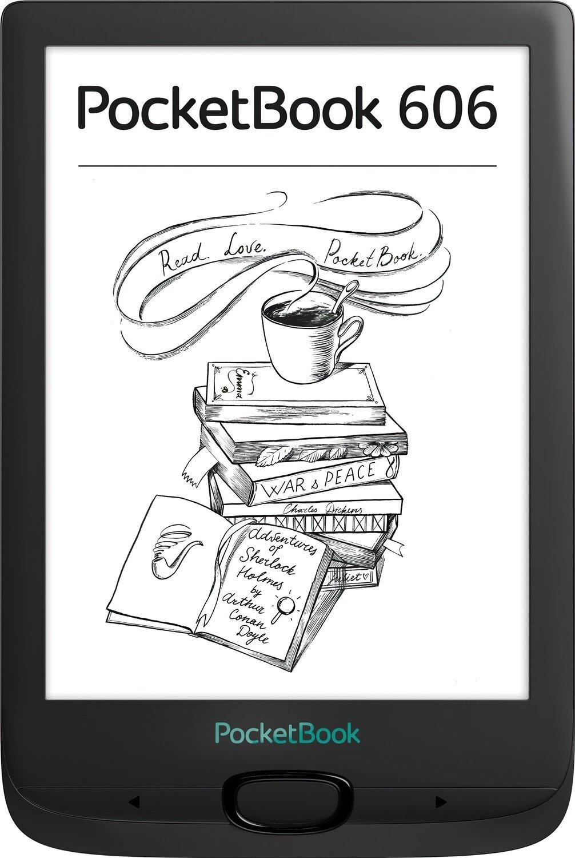 Електронна книга PocketBook 606 Blackфото