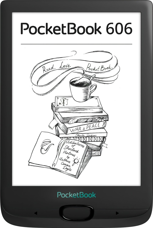 Электронная книга PocketBook 606 Black фото