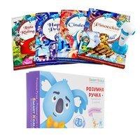 Интерактивная ручка Smart Koala + Книга Интерактивная Smart Koala Сказки 1 сезон (SKS0FTS1)