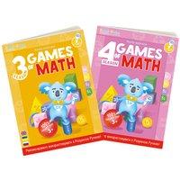 """Набор интерактивных книг Smart Koala """"Игры математики"""" (3,4 сезон) (SKB34GM)"""