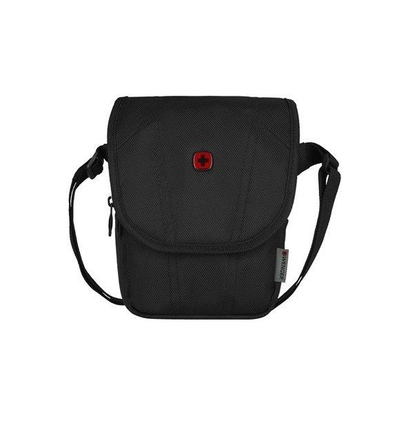 """Сумка Wenger BC High Flapover Crossbody Bag 10"""" (чёрная) фото"""