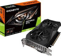 Відеокарта GIGABYTE GeForce GTX1650 4GB DDR6 128bit DP-HDMI-DVI D6 WINDFORCE OC