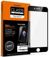 Стекло Spigen для iPhone SE/8/7 FC Black (1 pack)