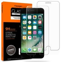Стекло Spigen для iPhone 8/7 Glas.tR Slim (2 pack)