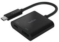 Адаптер Belkin USB-C - HDMI 60W PD, black