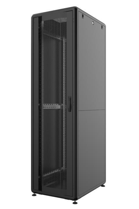 "Шкаф MIRSAN GTS 19"" 46U 600x1000, RAL 9005 (MR.GTS46U61DE.01) фото"
