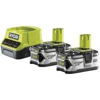 Акумулятор и зарядное устройство Ryobi ONE+ RC18120-240 18В 2х4.0А/г Lithium+