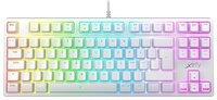 Клавиатура игровая Xtrfy K4 TKL RGB Kailh Red Ukr-Ru, White