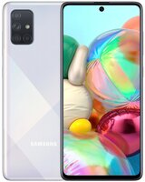 Смартфон Samsung Galaxy A71 A715F DS Metallic Silver