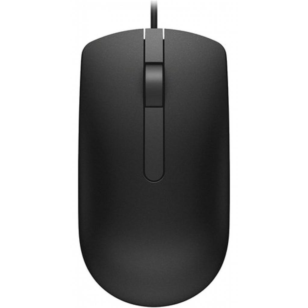 Миша DELL Optical Mouse MS116 Black (570-AAIS-MT19) фото