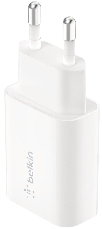 Сетевое ЗУ Belkin (18W) USB-A 3A QC3, white фото 1