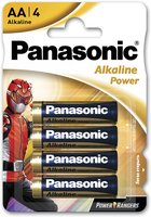 Батарейка Panasonic ALKALINE POWER AA 4 шт. Power Rangers (LR6REB/4BPRPR)
