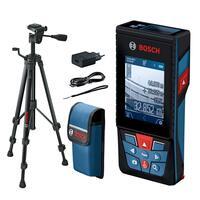 Дальномер лазерный Bosch GLM 120C + штатив BT 150, 0.08-120м, Bluetooth