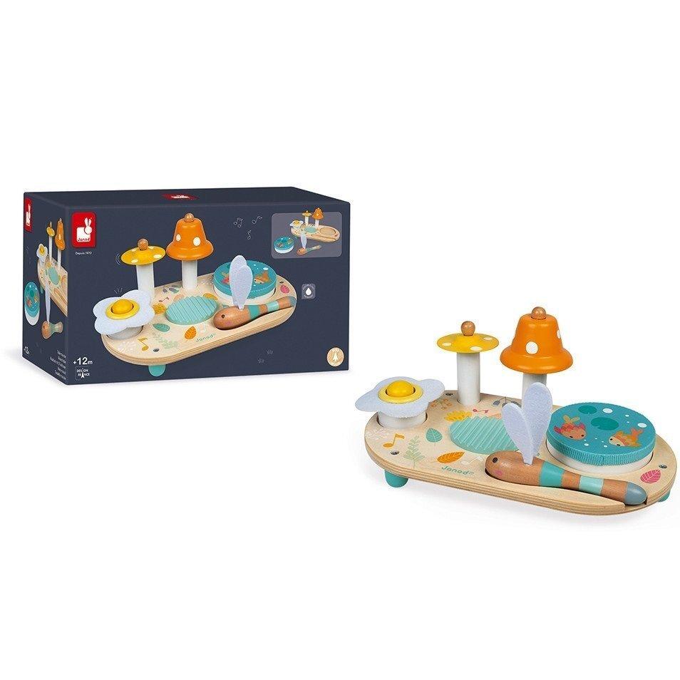 Развивающая игрушка Janod Sweet Pure Музыкальный столик (J05164) фото