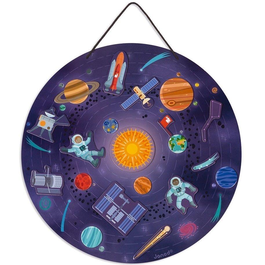Магнитная карта Janod Солнечная система (J05462) фото