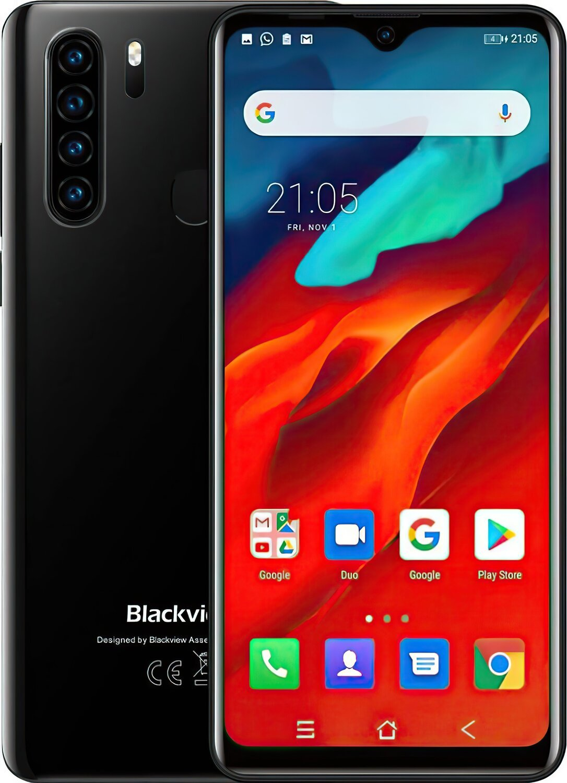 Смартфон Blackview A80 Pro 4 / 64GB DS Black OFFICIAL UA фото 1