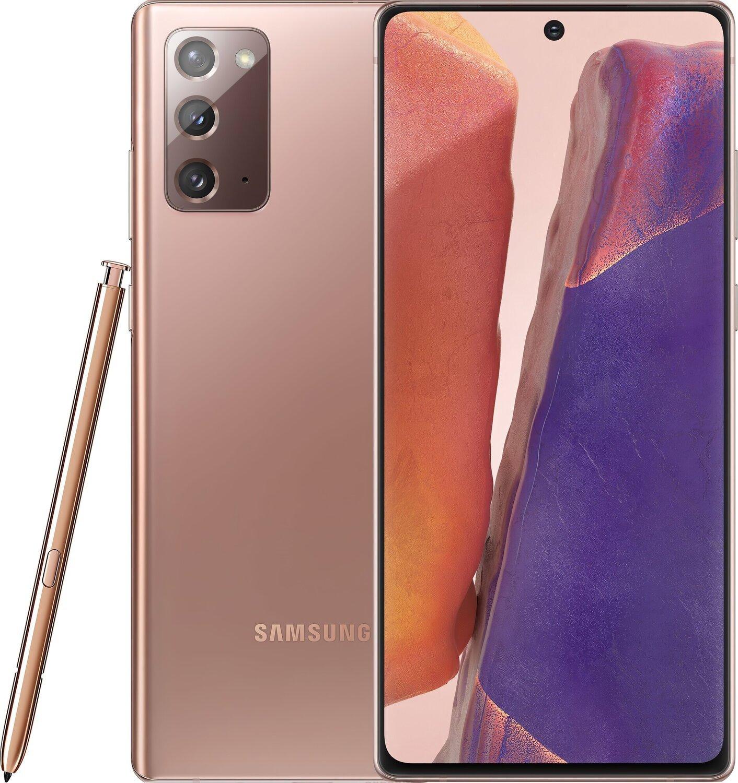 Смартфон Samsung Galaxy Note 20 8/256Gb Bronze фото 1