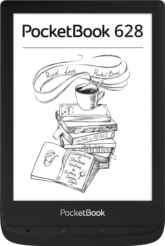 Електронна книга PocketBook 628 Ink Black фото1
