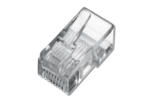 Купить Опции к сетевому оборудованию, Коннектор DIGITUS RJ45 Cat.5e UTP