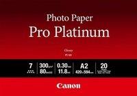 Фотобумага Canon A2 Pro Platinum Photo Paper PT-101 A2 20л (2768B067)