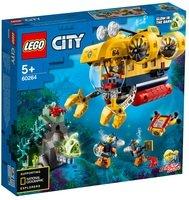 Конструктор LEGO City Океан: разведывательный подводная лодка (60264 L)
