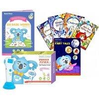 Стартовый набор Smart Koala + Книга Интерактивная Smart Koala English (1 сезон) + Книга интерактивная Smart Koala сказки