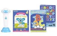 """Стартовий набір Smart Koala+Smart Koala English (1 сезон)+Книга фнтерактівна""""Англійський алфавіт"""""""