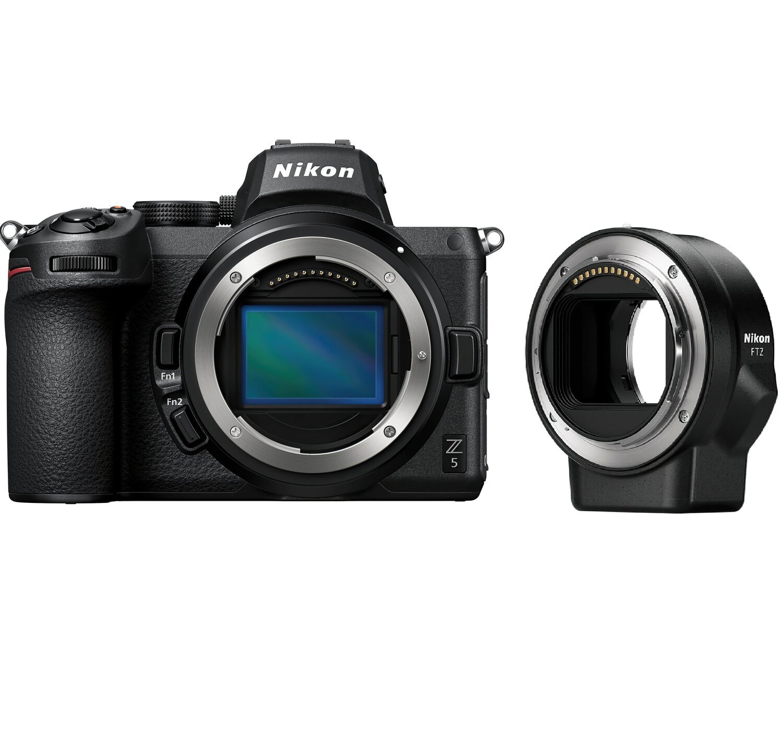 Фотоаппарат NIKON Z5 Body + FTZ Mount Adapter (VOA040K002) фото