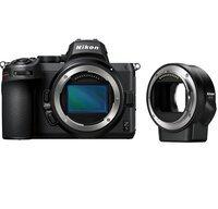 Фотоаппарат NIKON Z5 Body + FTZ Mount Adapter (VOA040K002)