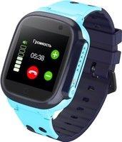 Детский GPS часы-телефон GOGPS ME K16 Синий